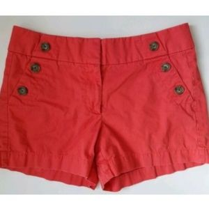 Ann Taylor Loft The Riviera Short size 4 pink